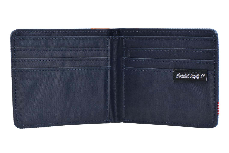Edward Navy Crosshatch/Tan Leather