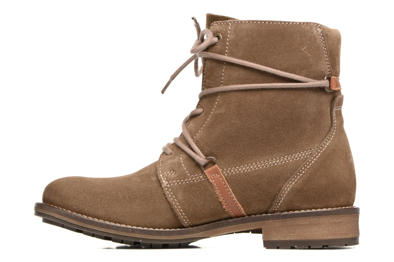 Ankle boots Tamaris Joséphine Brown front view