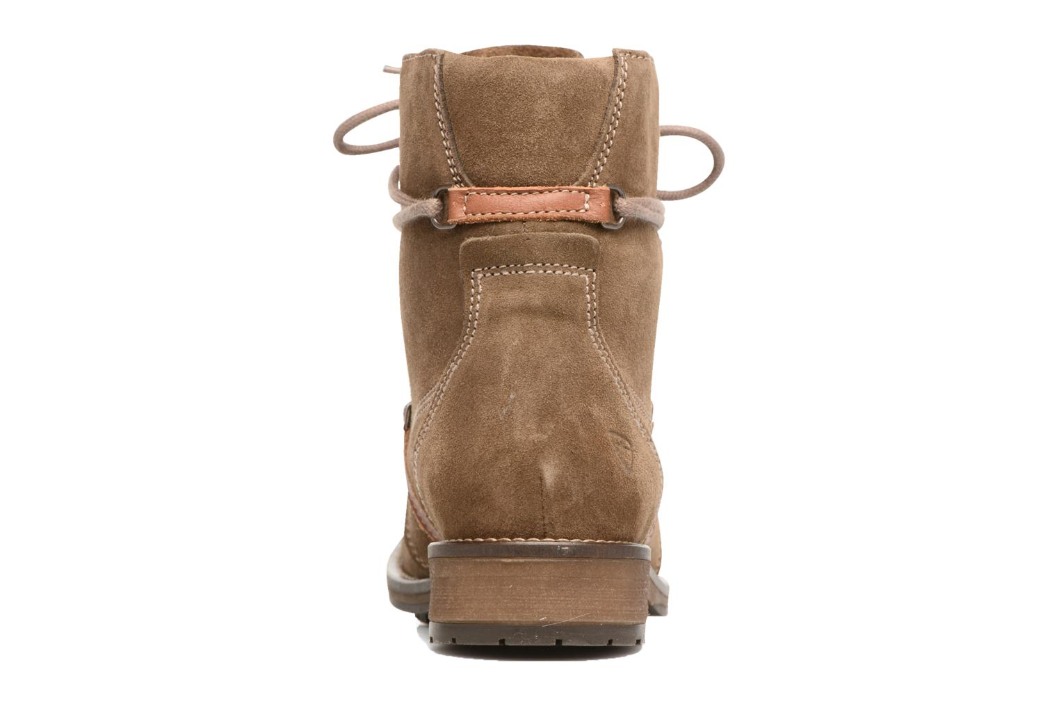 Ankle boots Tamaris Joséphine Brown view from the right