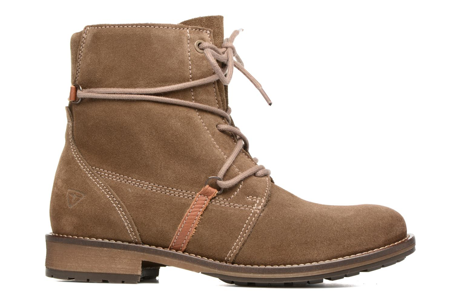 Ankle boots Tamaris Joséphine Brown back view