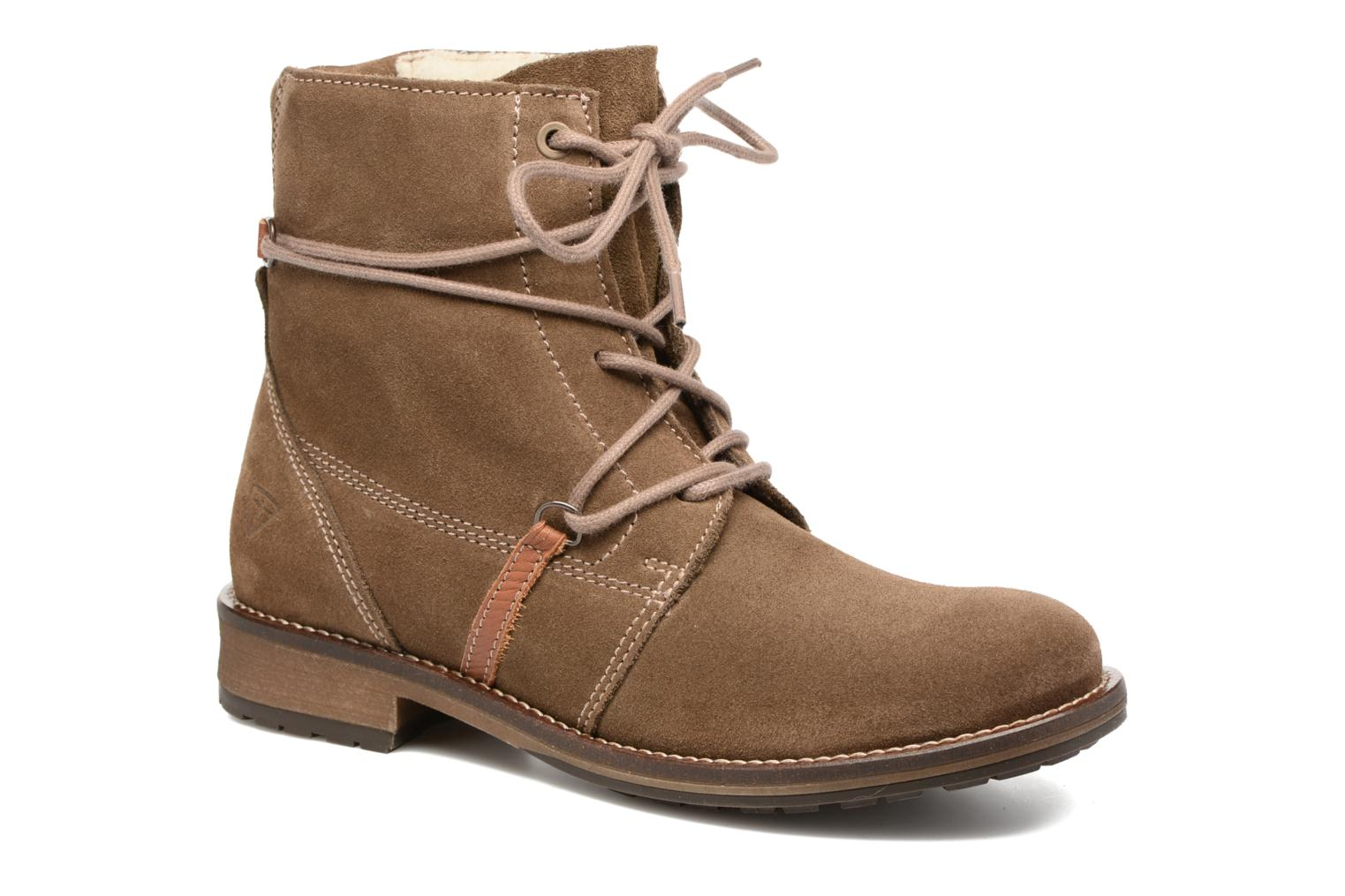 Ankle boots Tamaris Joséphine Brown detailed view/ Pair view