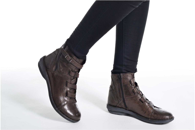 Bottines et boots Khrio Tali Gris vue bas / vue portée sac