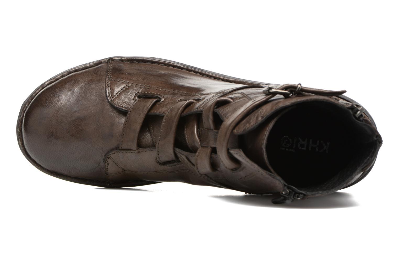 Bottines et boots Khrio Tali Gris vue gauche