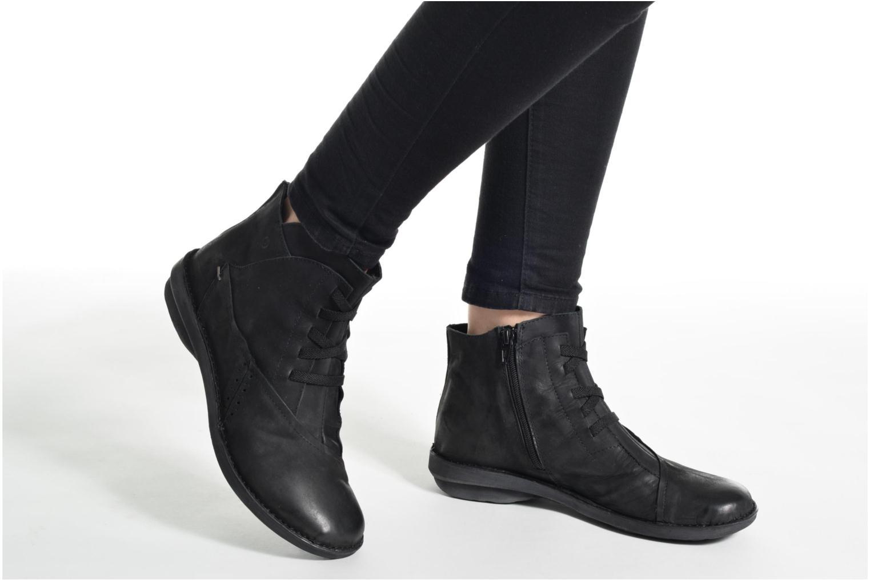 Bottines et boots Khrio Serra Noir vue bas / vue portée sac