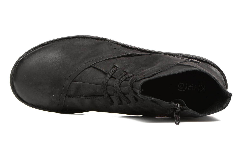 Bottines et boots Khrio Serra Noir vue gauche
