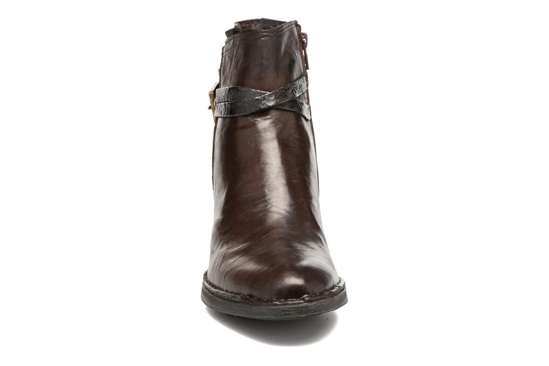 Bottines et boots Khrio Terro Marron vue portées chaussures