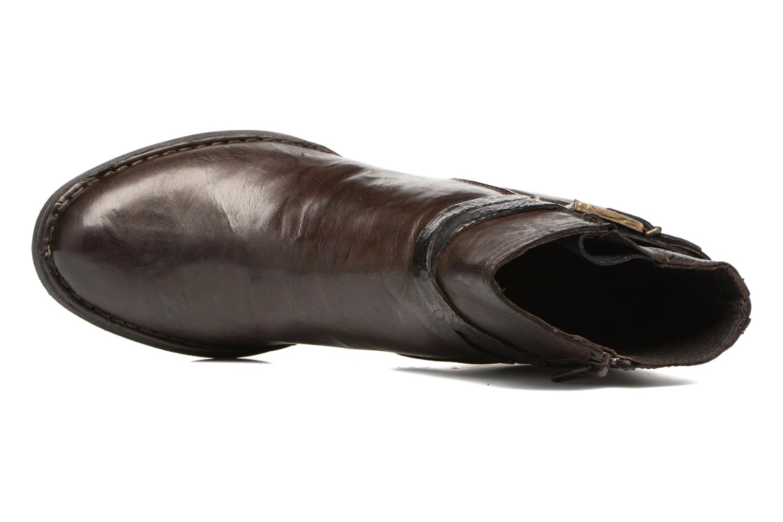Bottines et boots Khrio Terro Marron vue gauche
