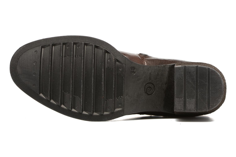 Bottines et boots Khrio Terro Marron vue haut