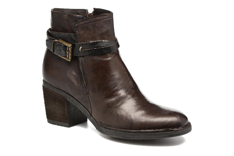 Bottines et boots Khrio Terro Marron vue détail/paire