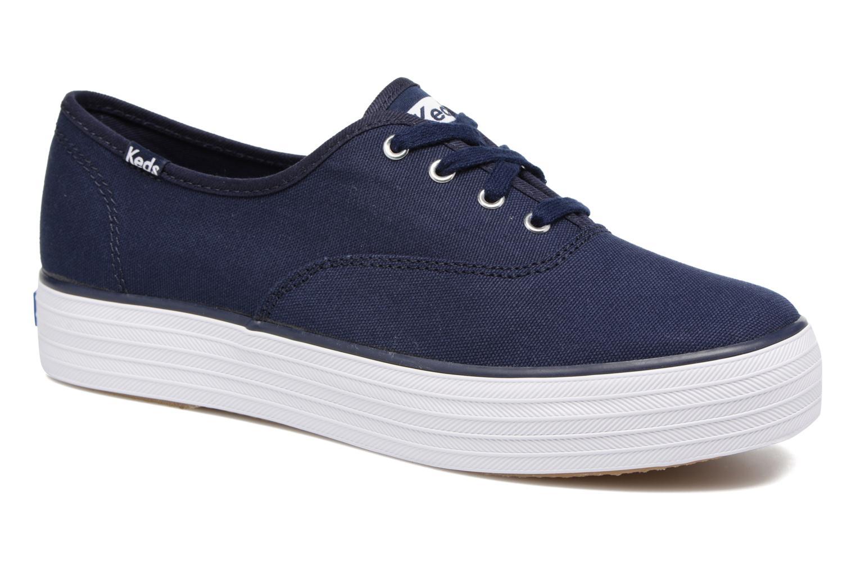 Grandes descuentos últimos zapatos Keds Triple Peacoat (Azul) - Deportivas Descuento