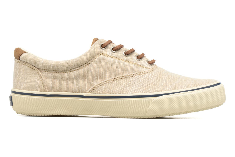 Sneakers Sperry Striper LL Line Beige immagine posteriore