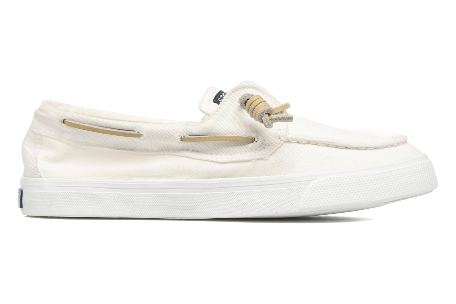 Baskets Sperry Bahama Washed Blanc vue derrière