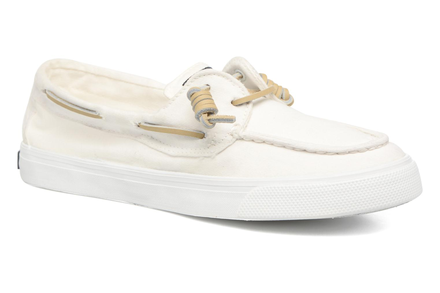 Baskets Sperry Bahama Washed Blanc vue détail/paire