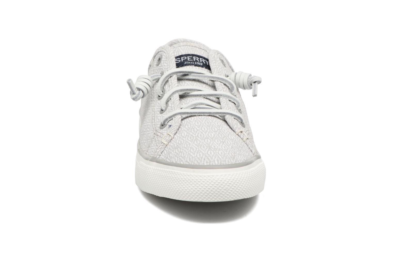 Baskets Sperry Seacoast Diamond Gris vue portées chaussures