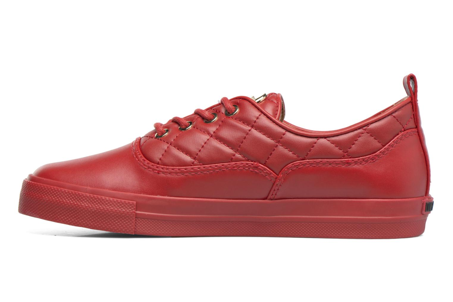 Trainers Love Moschino Superquilted Sneaker Red front view