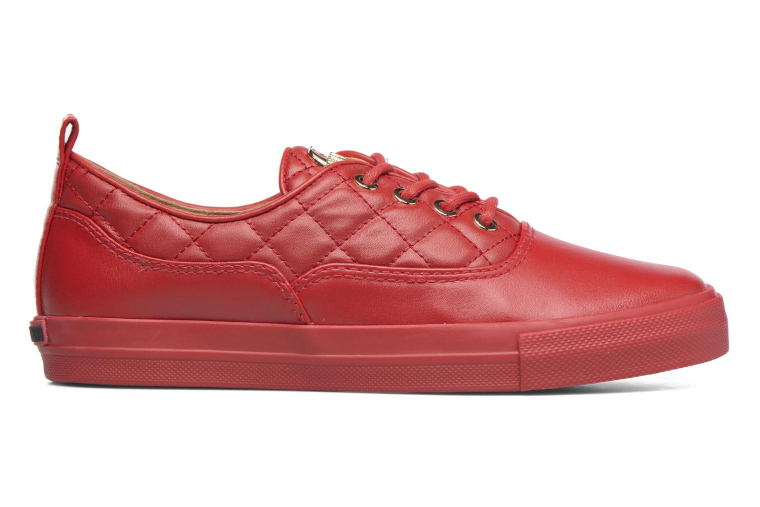 Sneakers Love Moschino Superquilted Sneaker Rood achterkant