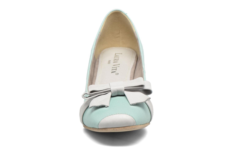 Escarpins Laura Vita Picaro Vert vue portées chaussures