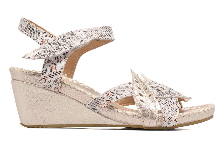 Sandales et nu-pieds Laura Vita Sari Or et bronze vue derrière
