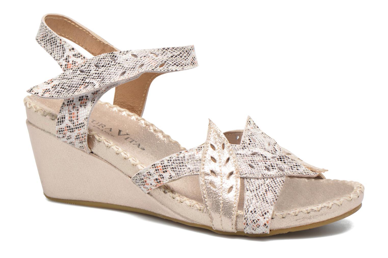Sandales et nu-pieds Laura Vita Sari Or et bronze vue détail/paire