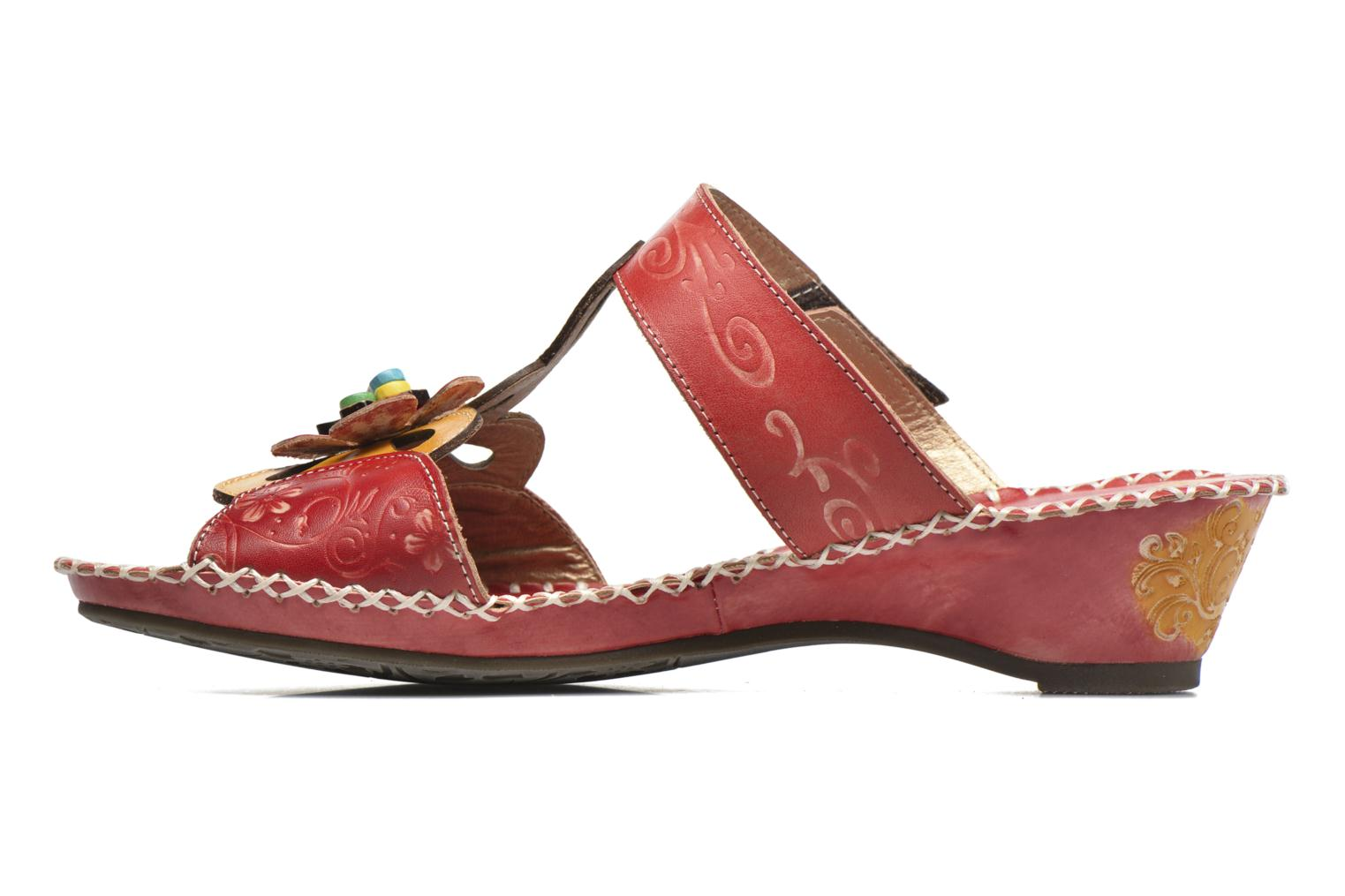 Mules & clogs Laura Vita Scotch Red front view