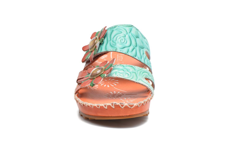 Sandales et nu-pieds Laura Vita Valette Orange vue portées chaussures
