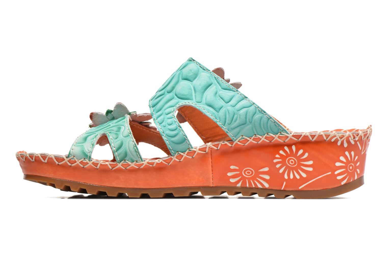 Sandales et nu-pieds Laura Vita Valette Orange vue face