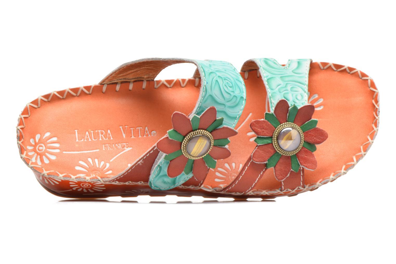 Sandales et nu-pieds Laura Vita Valette Orange vue gauche