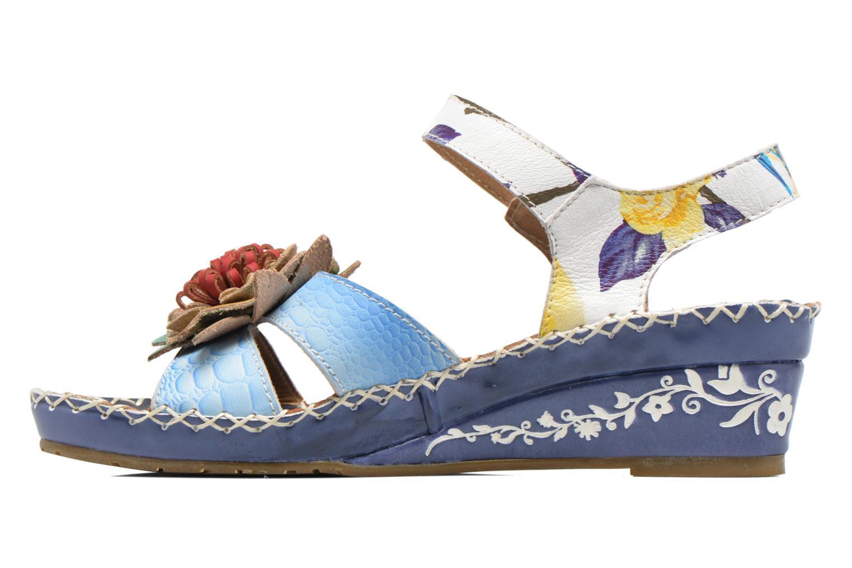 Sandalen Laura Vita Valmon blau ansicht von vorne