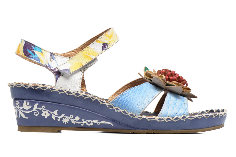 Sandalen Laura Vita Valmon blau ansicht von hinten