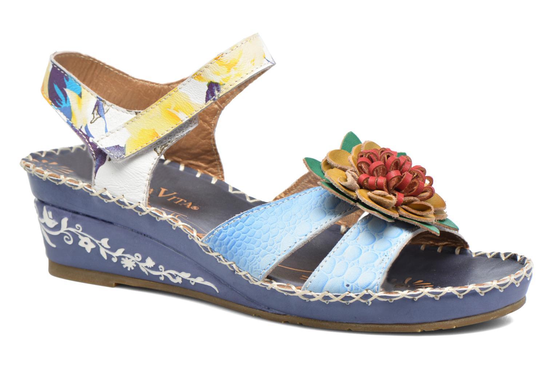 Sandaler Laura Vita Valmon Blå detaljeret billede af skoene