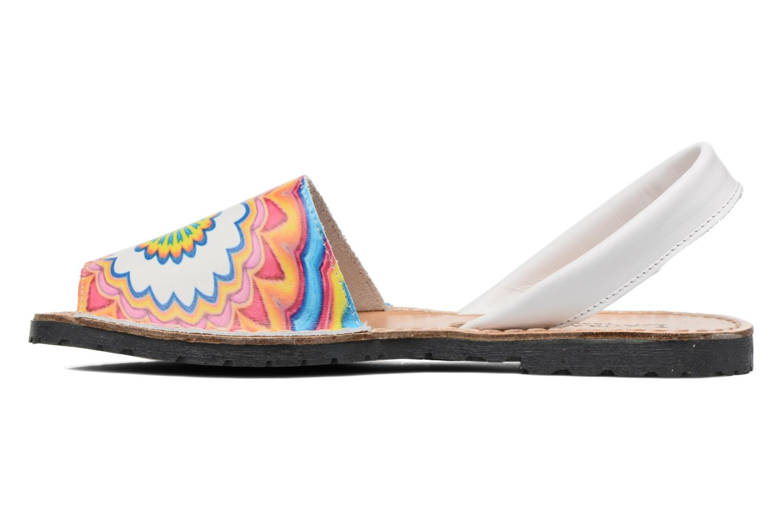 Sandali e scarpe aperte Laura Vita Sirene Bianco immagine frontale