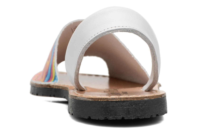 Sandali e scarpe aperte Laura Vita Sirene Bianco immagine destra