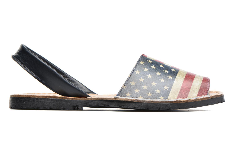 Sandales et nu-pieds Laura Vita Sofie Multicolore vue derrière