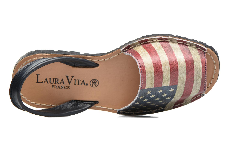 Sandales et nu-pieds Laura Vita Sofie Multicolore vue gauche