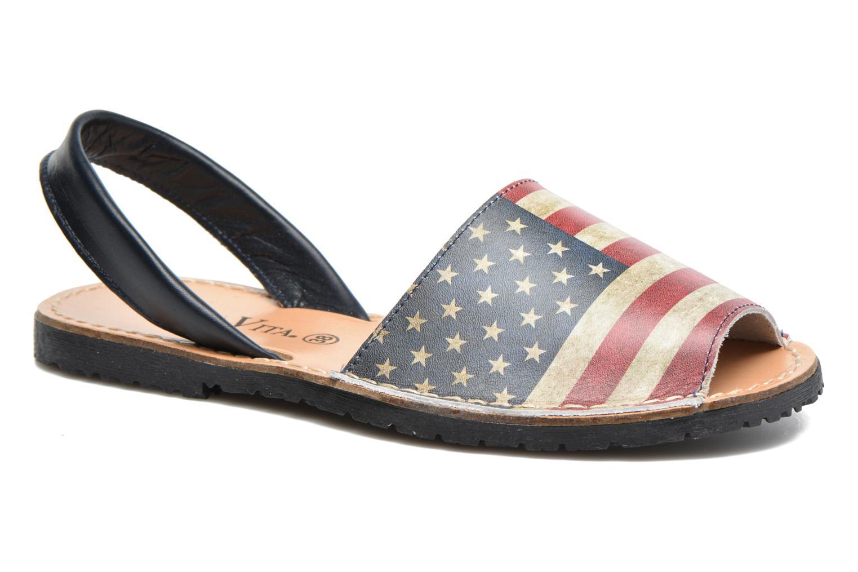 Sandales et nu-pieds Laura Vita Sofie Multicolore vue détail/paire