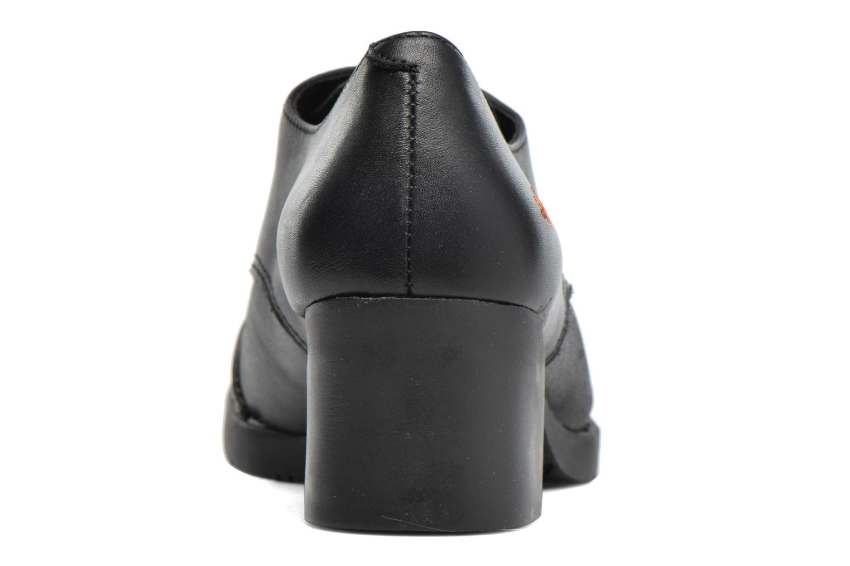 Chaussures à lacets Art Bristol 078 Noir vue droite