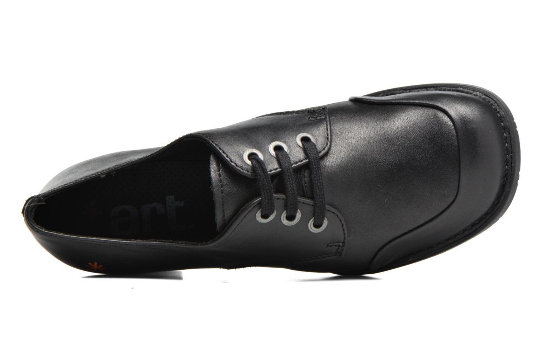 Chaussures à lacets Art Bristol 078 Noir vue gauche