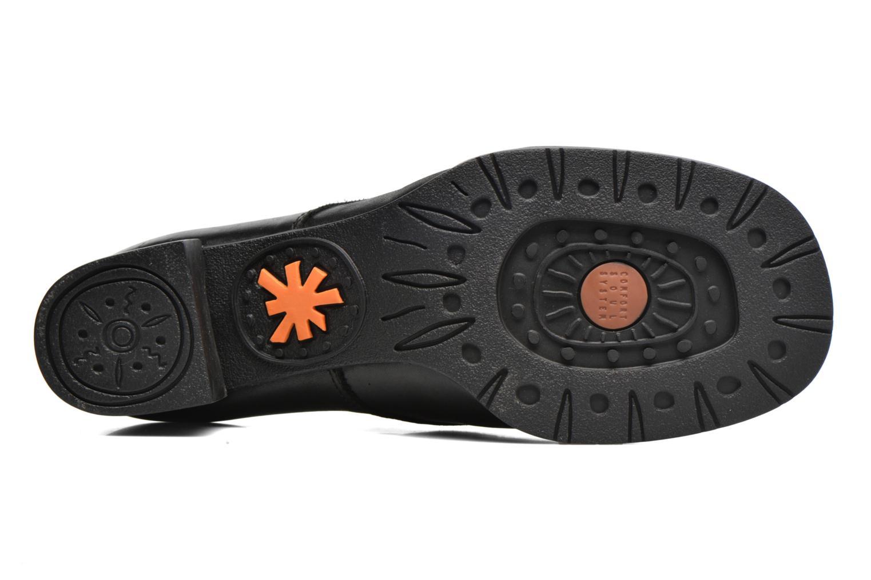 Chaussures à lacets Art Bristol 078 Noir vue haut