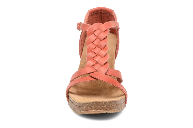 Sandales et nu-pieds Art Valby 438 Rouge vue portées chaussures