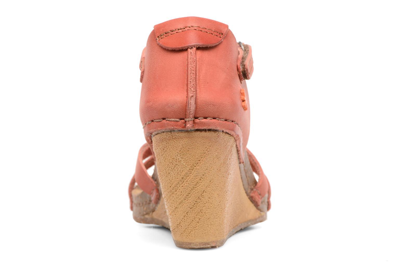 Sandales et nu-pieds Art Valby 438 Rouge vue droite