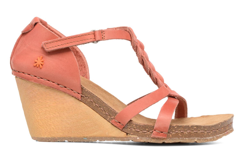 Sandales et nu-pieds Art Valby 438 Rouge vue derrière