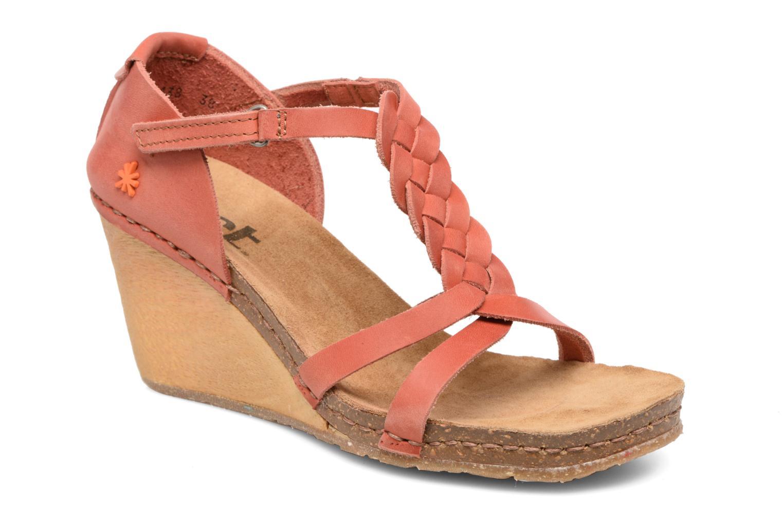 Sandales et nu-pieds Art Valby 438 Rouge vue détail/paire