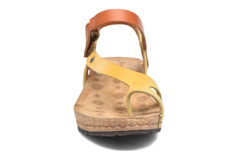 Sandales et nu-pieds Art Pompei 737 Jaune vue portées chaussures