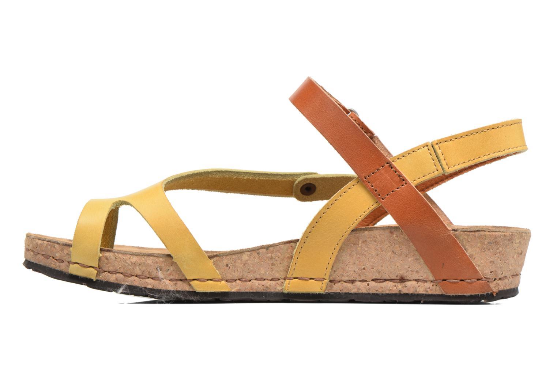 Sandales et nu-pieds Art Pompei 737 Jaune vue face