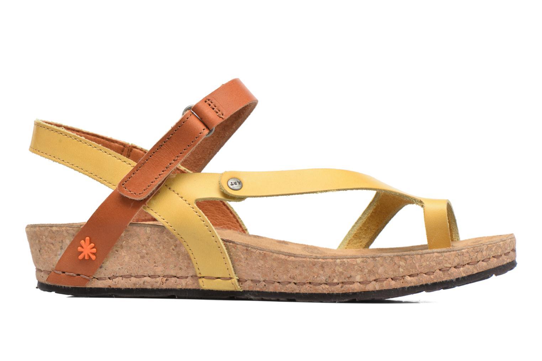 Sandales et nu-pieds Art Pompei 737 Jaune vue derrière