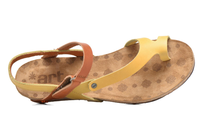 Sandales et nu-pieds Art Pompei 737 Jaune vue gauche