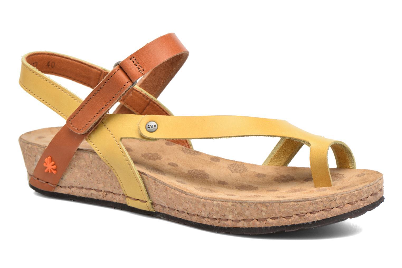Sandales et nu-pieds Art Pompei 737 Jaune vue détail/paire