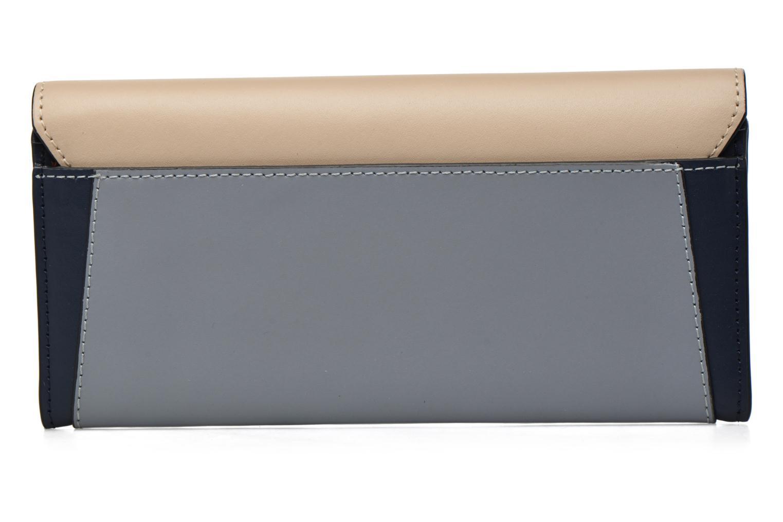 Wallets & cases Le Tanneur Porte monnaie Lily long 8 cc Blue front view