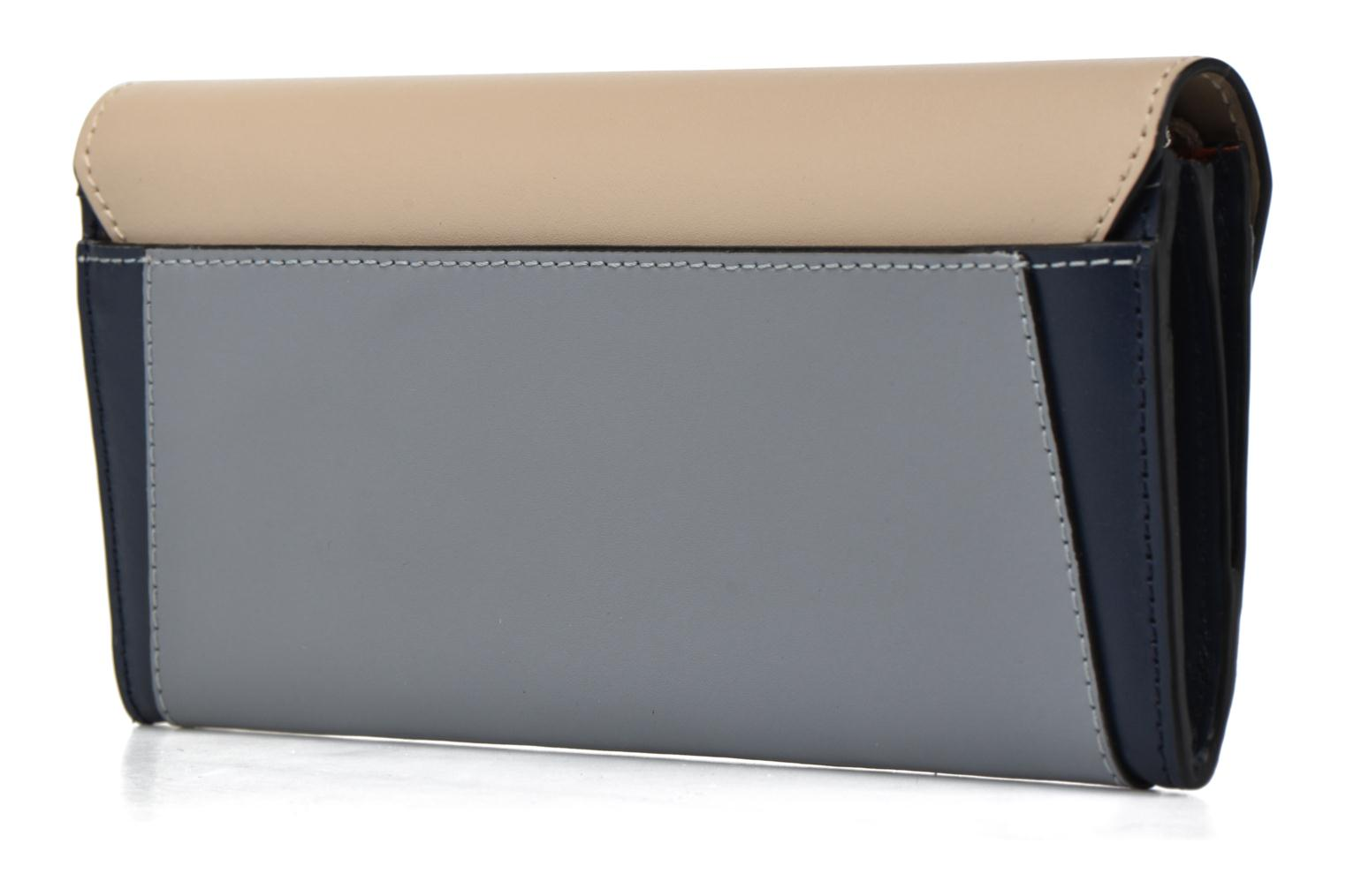 Wallets & cases Le Tanneur Porte monnaie Lily long 8 cc Blue view from the right