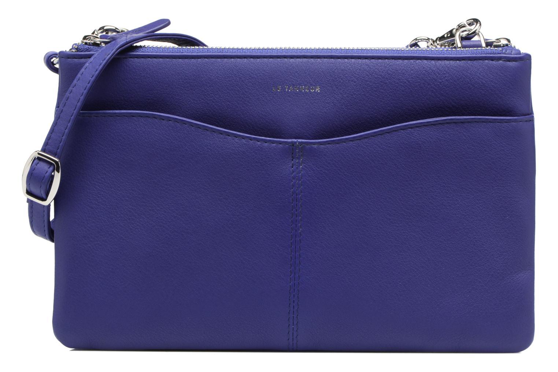 Sacs à main Le Tanneur Pochette double zippée Valentine Bleu vue détail/paire